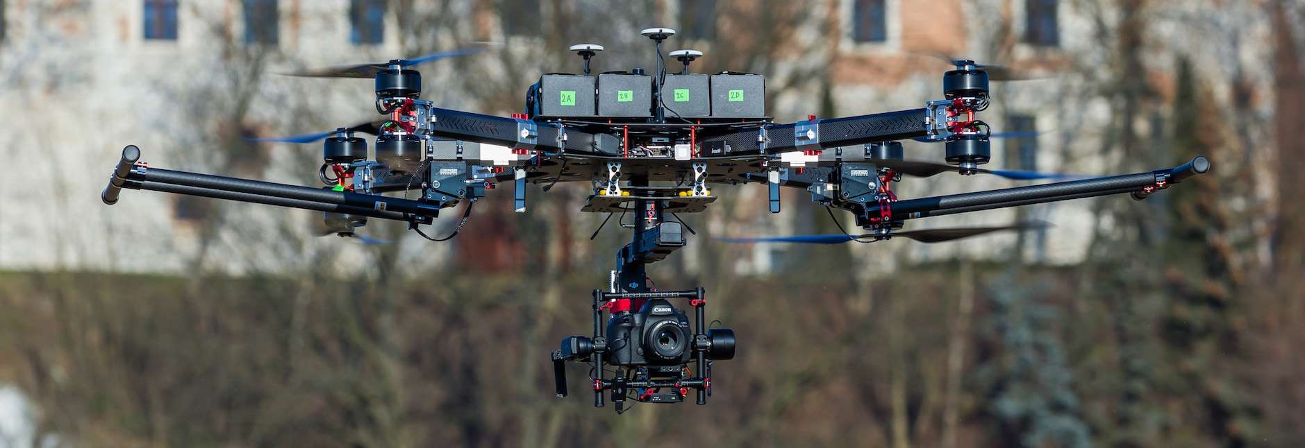 dron kraków