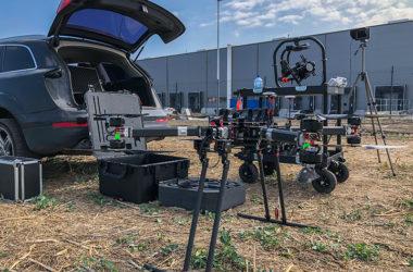 filmowanie dronem