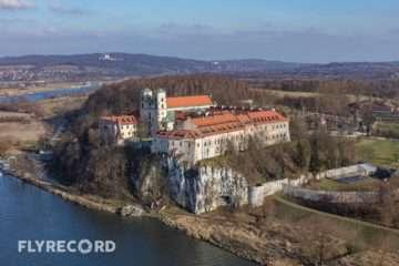 Klasztor w Tyńcu - dron Kraków (1/8)