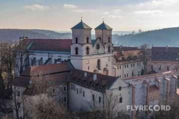 Klasztor w Tyńcu - dron Kraków (3/8)