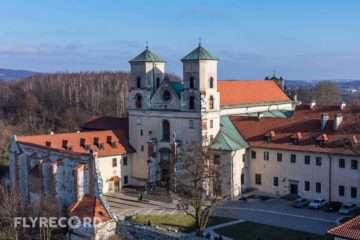 Klasztor w Tyńcu - dron Kraków (4/8)