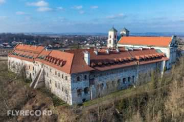 Klasztor w Tyńcu - dron Kraków (6/8)