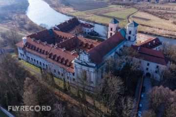 Klasztor w Tyńcu - dron Kraków (7/8)