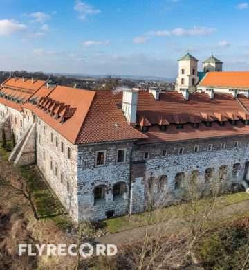 Klasztor w Tyńcu - dron Kraków (8/8)