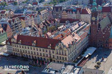 Rynek Wrocławski z drona (4/12)