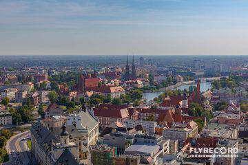 Rynek Wrocławski z drona (9/12)