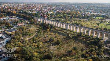 Wiadukt kolejowy w Bolesławcu (7/9)